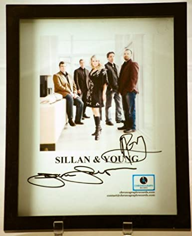 Chronograph Records - Sillan & Young Signed Color Photo - Pop / Neo ...