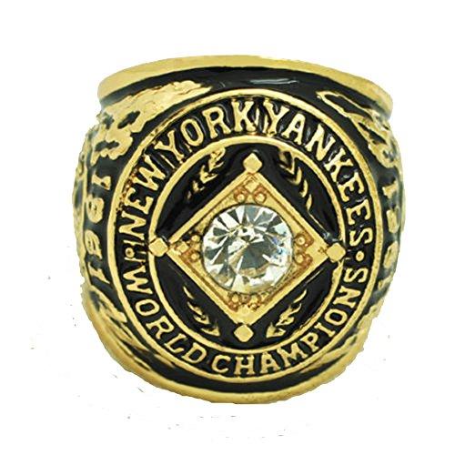 YIYICOOL NY 1961 Yankees Championship Ring size 11.25 With carton