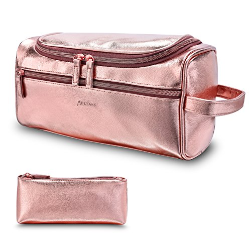 f641ced04a7b CoolBELL Toiletry Bag Travel Toiletry Organizer Portable Hanging Makeup Bag  Dopp Kit   Shaving Cosmetic Bag for Men Women (Rose Gold) - Buy Online in  Oman.