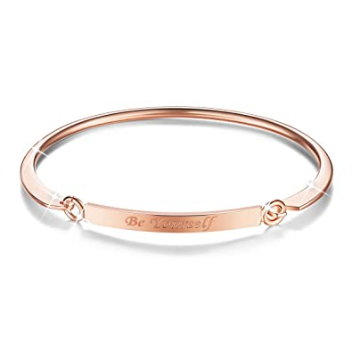 SHEGRACE Copper Bangle Bracelet for Woman HRitGOm