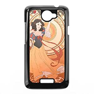 Disney Snow White And The Seven Dwarfs Character HTC One X Cell Phone Case Black Gift pjz003_3156210