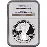 1992 S American Silver Eagle Proof $1 PF69 UCAM NGC