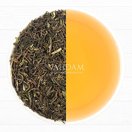 2017 Harvest, Makaibari Premium Darjeeling First Flush Organic Black Tea, 100% Pure Unblended Black Tea Loose Leaf Sourced Direct from the Makaibari Tea Estate (50 Cups), - Moonlight Classic 2017