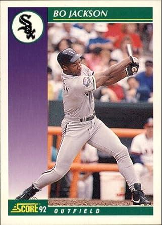 Amazoncom 1992 Score Baseball Card 361 Bo Jackson Collectibles