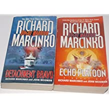 Authors Richard Marcinko and John Weisman Two Book Bundle Rogue Warrior Collection Set, Includes: Echo Platoon and Detachment Bravo