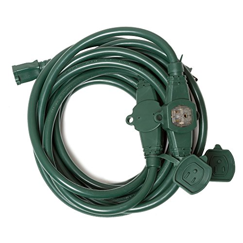 Outdoor Christmas Lights And Extension Cords - 2