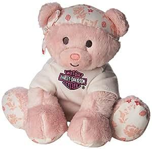 Amazon Com Harley Davidson All Bean Bag Pink Bear Quot Spark