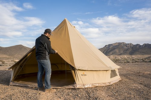 TETON 16 Canvas Bell Tent Family Camping Person Tent