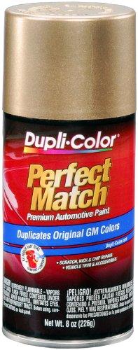 Dupli-Color  Paint BGM0491 Perfect Match Premium Automotive Paint; Gold Metallic; Paint Code 398E; 8 oz. Aerosol; (1)