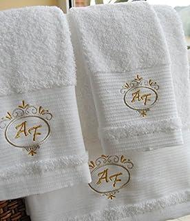 Calidad Superior personalizado juego de toallas de baño - Deluxe - Juego de 3 piezas - Hoja…
