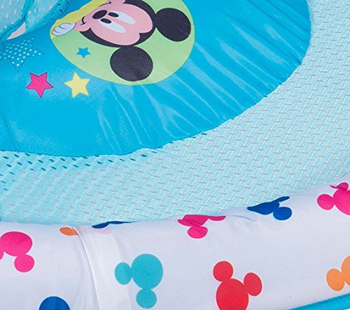 SwimWays Inflatable Infant Baby Swimming Pool Float w/Canopy, Mickey Mouse (2 Pack) by SwimWays (Image #3)