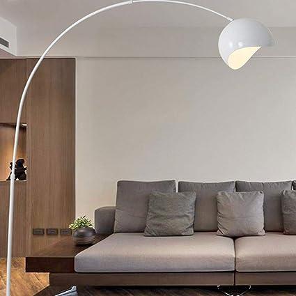Moderna lámpara de pie de Arco, Sala de Estar, Amarilla ...