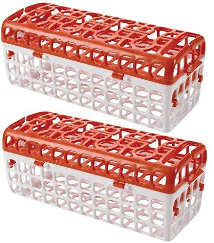 OXO Dishwasher Basket Orange Pack