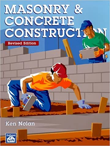 Masonry & Concrete Construction by Kenneth J. Nolan (1997-12-09)