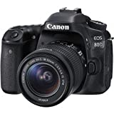 Canon EOS 80D DSLR Camera with 18-55mm Lens Digital SLR Camera Kit