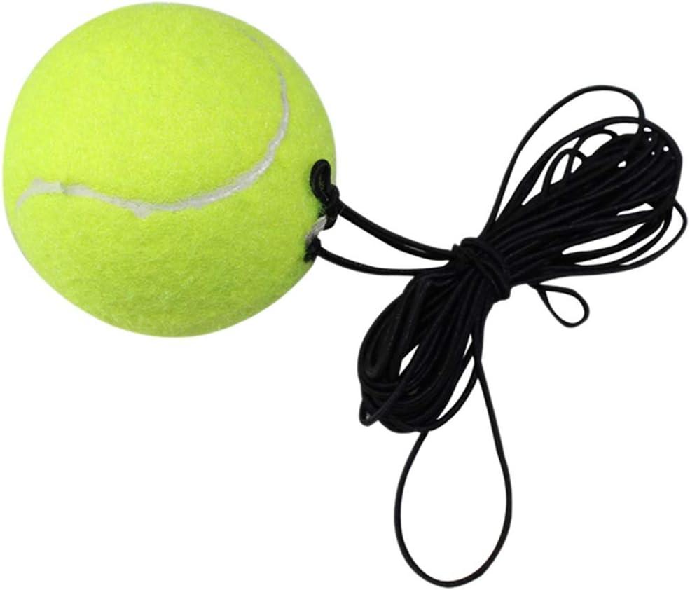 WA Tennis Training Rebound Ball, Entraîneur de Tennis Rebound Ball La Coordination Main-œil Outil D'entraînement Sport Tennis Trainer Matériel d'Entraînement Orange