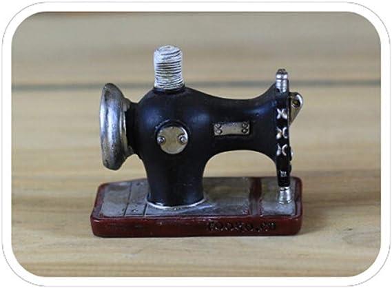 Vosarea - Adorno de máquina de Coser Vintage de Mesa Artesanal, Regalo para cafetería, salón o decoración de árbol ...