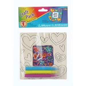 Bulk buy darice crafts for kids wood frame for Craft kits for kids in bulk