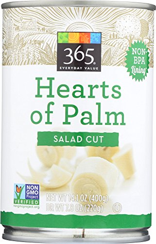 365 Everyday Value, Hearts of Palm, Salad Cut, 14.1 oz