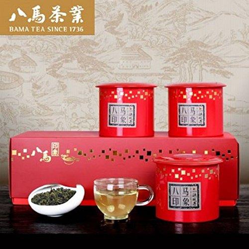 Tieguanyin tea Bama impression Tulou designed high-end gift box 360g 八马印象铁观音茶叶 by Yichang Yaxian Food LTD.