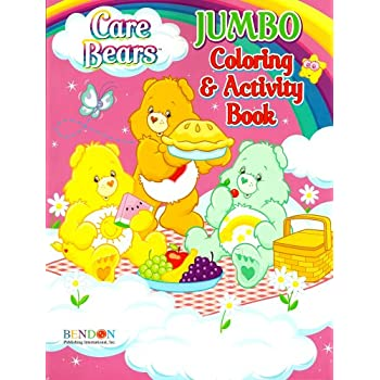 Amazon Com Care Bears Coloring Activity Book C Toys Games