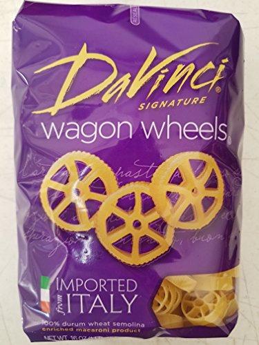 Da Vinci Short Cuts, Wagon Wheels, 16 oz, 3 pk