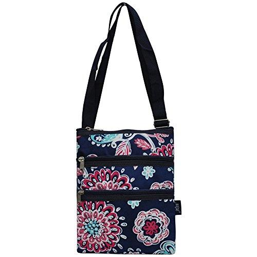 NGIL Messenger Hipster Bag (Medieval Blossom-Navy)