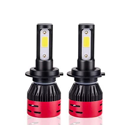 Directtyteam Bombillas 9006 LED para Coche 60 W 6400lm 6500 ...