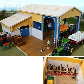 Almacenamiento cobertizo de madera con el Becerro de Casa: Amazon.es: Juguetes y juegos
