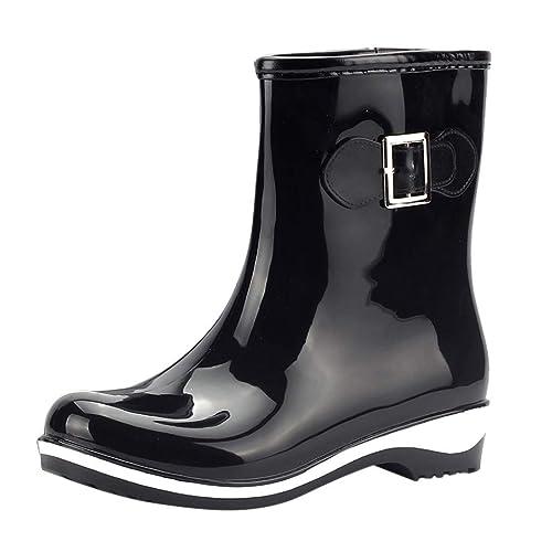 Stivali di Gomma alla Moda Donna Stivali da Pioggia