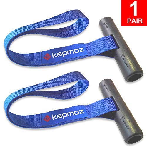 (LE KAPMOZ Quick Hood Loops Trunk Anchor Kayak Tie Downs Straps Bow Stern Canoe Transport Secure Lashing Point)