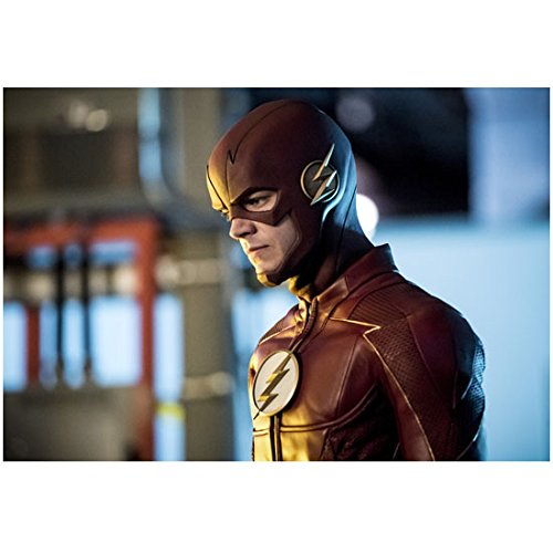 The Flash Grant Gustin As Barry Allen Close Up Looking Down 8 X 10 Inch Photo