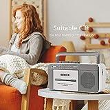 Retro Boombox Cassette Player AM/FM Radio