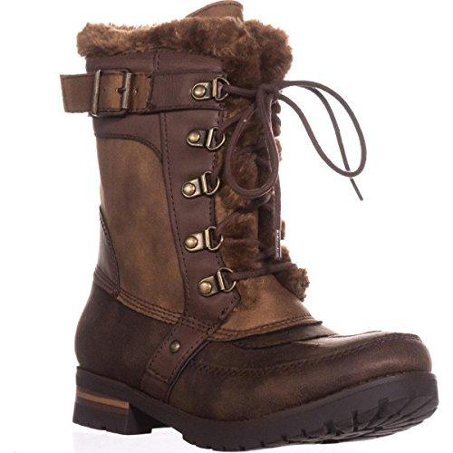 ましい礼拝助言Rock & Candy Womens danlea Closed Toe Cold Weather Boots