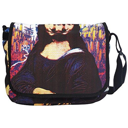 Bolsa bandolera para mujer - Algodón - Mediano - Mona Lisa