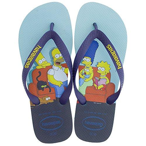 44 Simpsons 43 Zehensandale Havaianas Blue wIqBZX