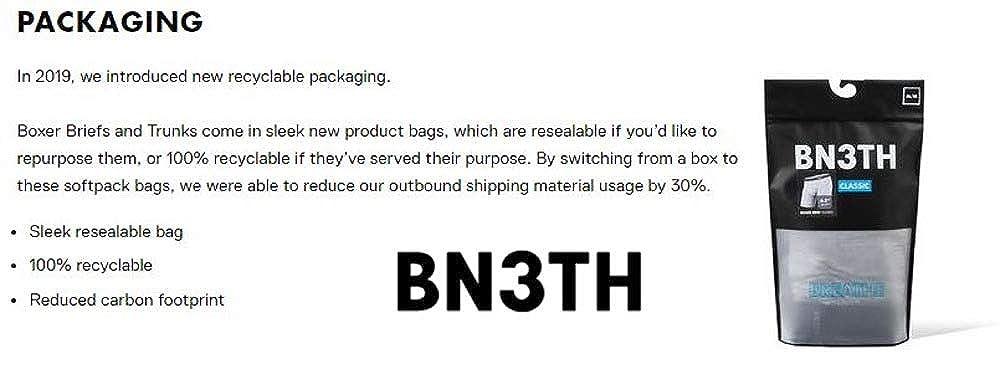 Bn3th Classic Brief Print Distripe Teal, Small