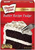 Duncan Hines Fudge Cake Mix, Classic Butter Recipe, 15.25 Ounce