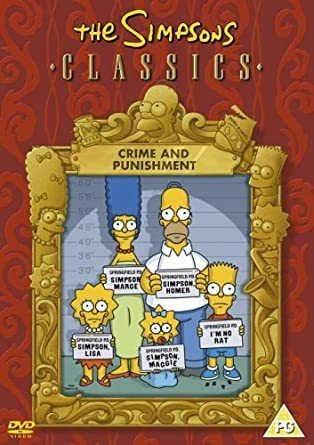 Amazon Com The Simpsons Crime And Punishment Dvd Movies Tv