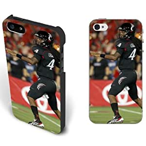 NCAA Cincinnati Bearcats Football Teams for Sports Star Iphone 5/5s Case - University of Cincinnati Guys NO.4 QB Munchie Legaux
