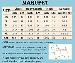MaruPet Puppy Dog Ribbed Knit Sweater Knitwear Turtleneck Contrast Argyle Kintted Doggie Hoodies Apparel for Small Dog Red/Black L