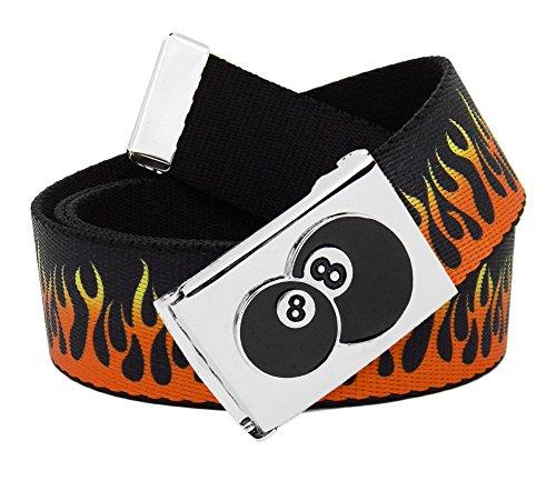 8 Ball Belt Buckle - 8