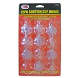 IIT 03054 Suction Cup Hooks, 12-Piece