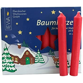 150 RED WHITE NATURAL GERMAN CHRISTMAS PYRAMID CANDLES PYRAMIDENKERZEN