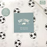 Boy Zone Soccer Twin Sheet Set 100% Cotton