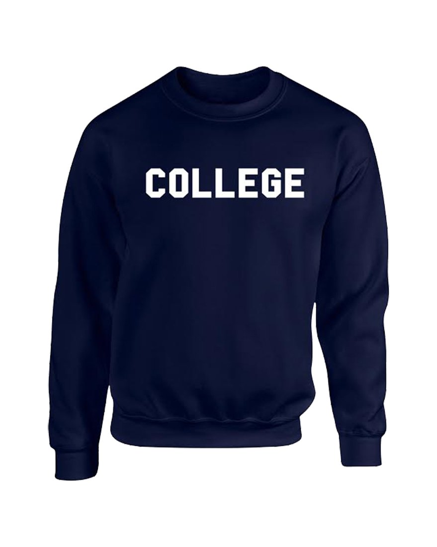 OKX Animal House 'College' Crew Neck Sweatshirt