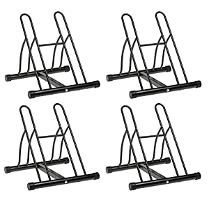 Racor PBS-2R Two-Bike Floor Bike Stand (Pack of 4)