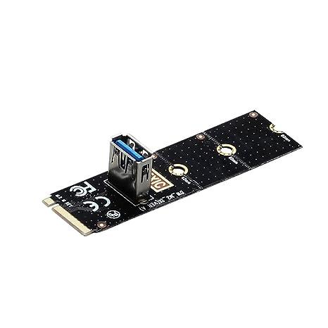 flashcat NGFF a PCI-E Riser Tarjeta M2 ranura para tarjeta ...