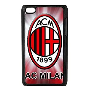 AC Milan for Ipod Touch 4 Cell Phone Case & Custom Phone Case Cover R18A651536