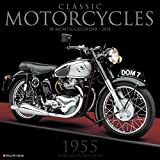 Classic Motorcycles 2018 Wall Calendar